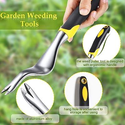 Hand Weeder Garden Patio Weeding Tools Garden Lawn Transplant Gardening Tool