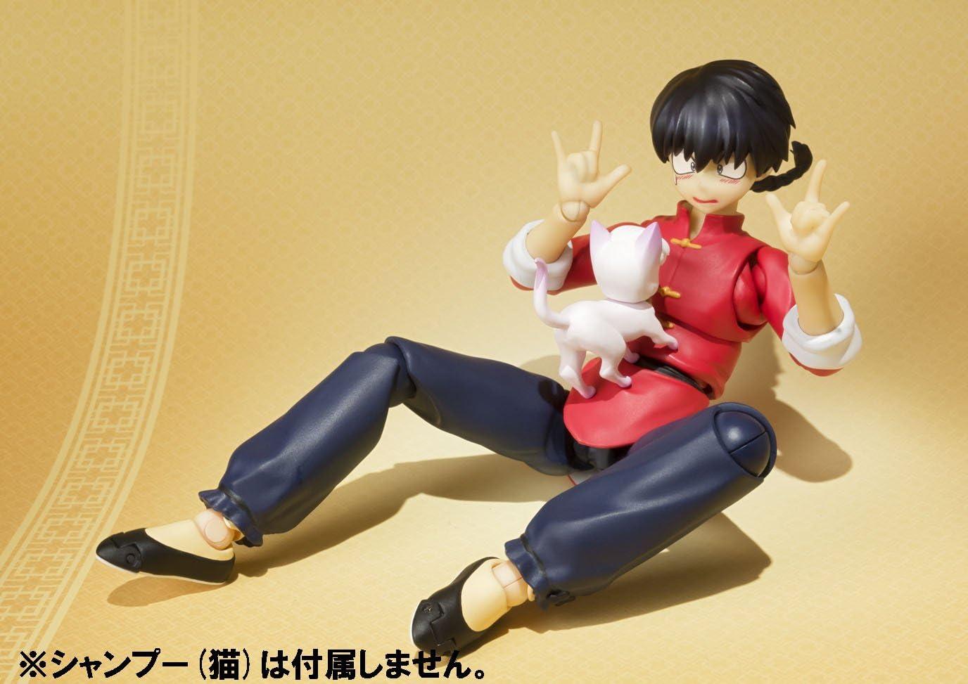 Figuarts Ranma 1//2 Saotome Girl SH S.H Bandai Japan NEW