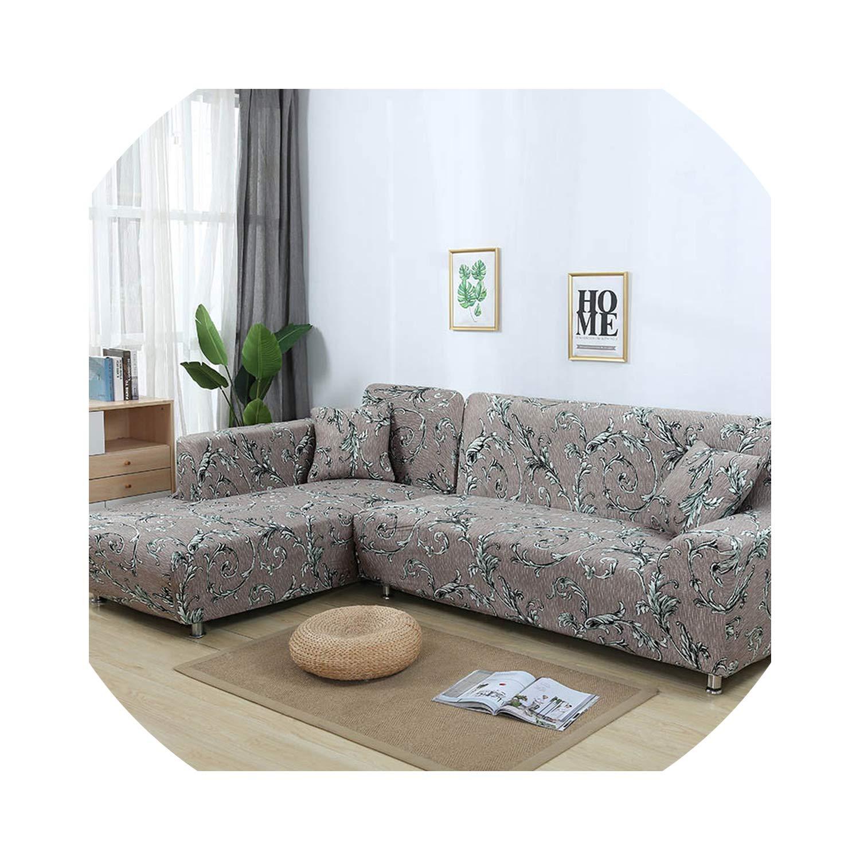 Amazon.com: Funda de sofá con funda ajustada para sofá, sofá ...