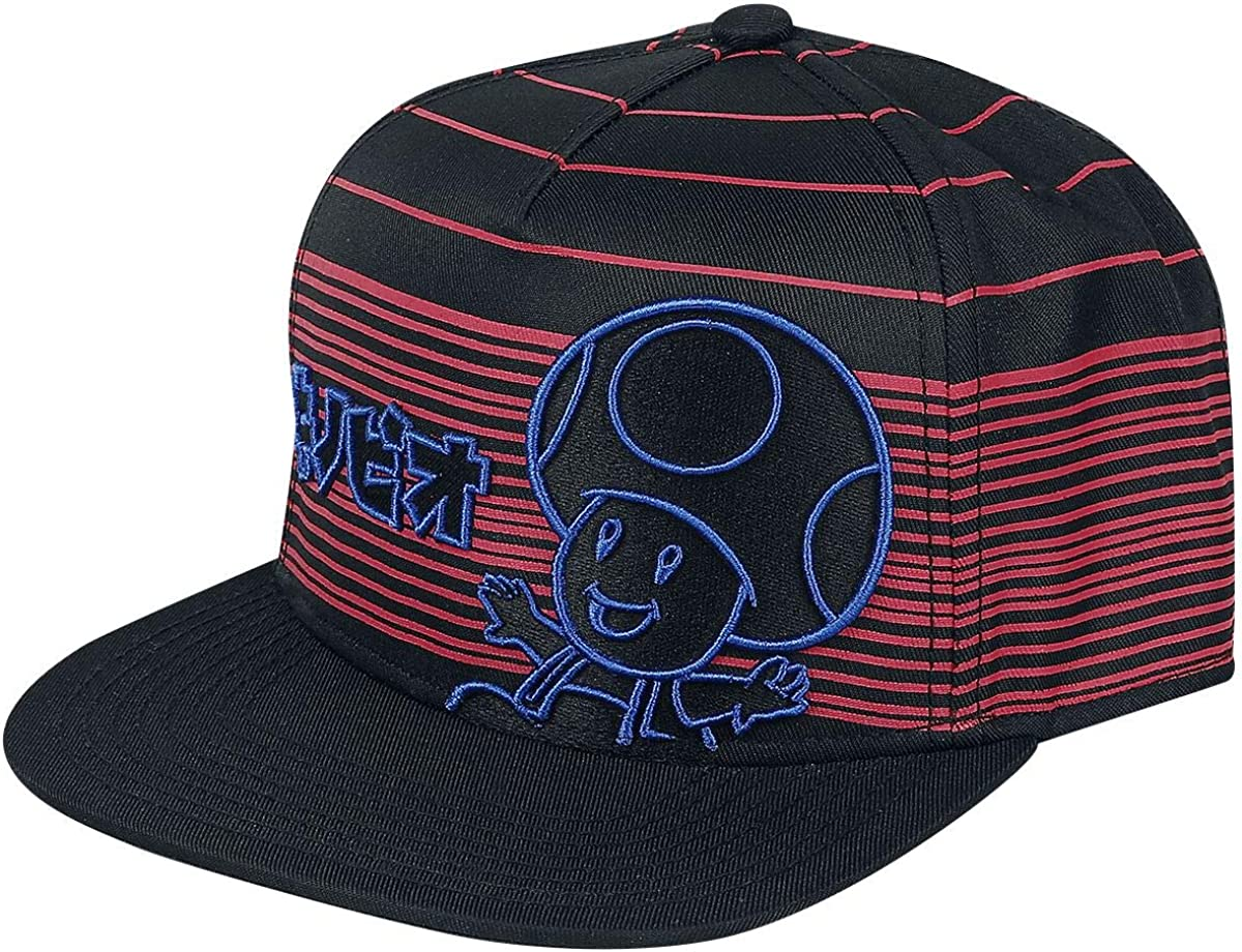 Difuzed Herren Neon Toad Snapback Baseballkappe Schwarz Einheitsgr/ö/ße