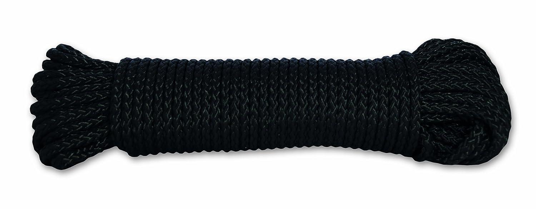 100 kg Di/ámetro 2,8 mm Largo 10 m Negro Chapuis FDC9 Cuerda de polipropileno trenzada