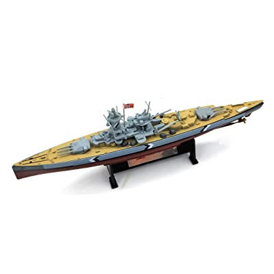 FloZ WWII Germany LUTZOW Navy Battleship 1/1000 DIECAST Model Ship: Toys & Games