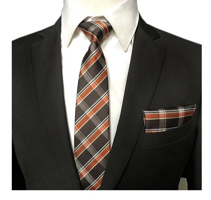 Amazon.com: elfeves tartán escocés de hombre, estilo lazos ...