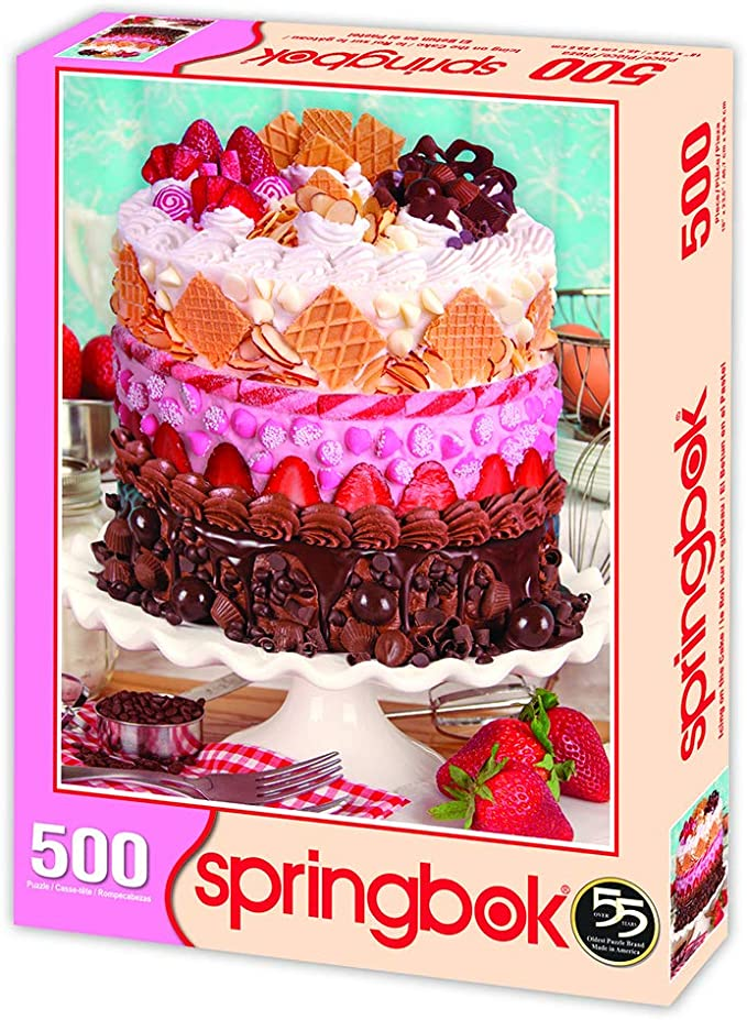 Cake Toppings Really Hard Puzzle 500