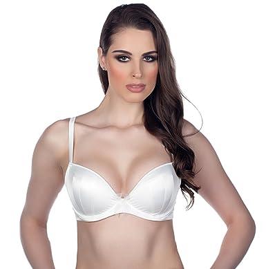 cb6dec750a Panache Harlequin Tiffany Plunge Underwire Bra 5431 - Ivory