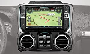 "Alpine Electronics X209-WRA-OR 9"" Restyle Navigation System with Off-Road Mode & Apple CarPlay & Android Auto for The Jeep Wrangler (2011-2018)"