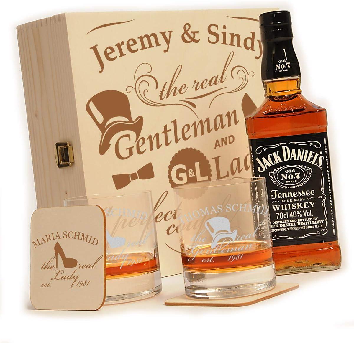 puede Whisky Botella Incluye grabado/ /Gentleman And Lady /Dise/ño/