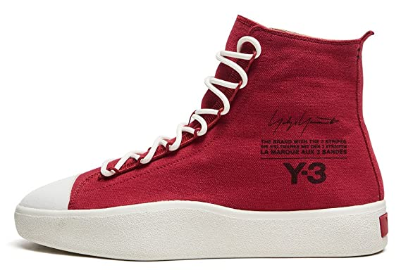 9494f5b3a adidas Y-3 Yohji Yamamoto by Bashyo - Red AC7519  Amazon.co.uk  Clothing
