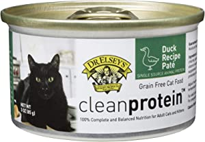 Dr. Elsey's Cleanprotein Duck Formula Canned Cat Food, 3oz (Case of 18)