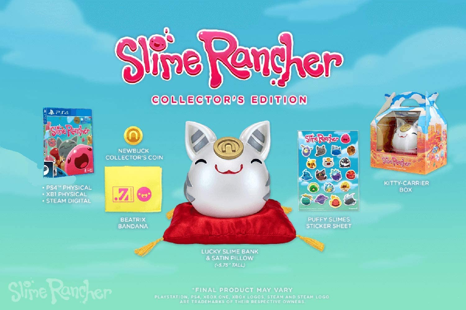 No Game Slime Rancher Collectors Edition