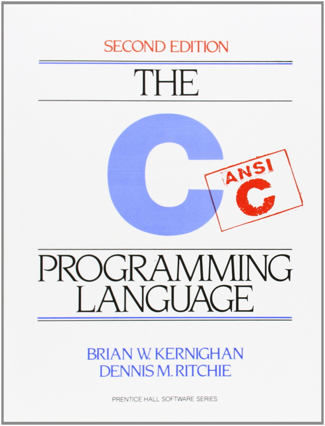 C Programming Language ISBN-13 9780131103627