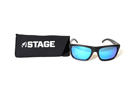 164180dcd5 Amazon.com   STAGE Cast Polarized Floating Sunglasses with Blue Lens ...