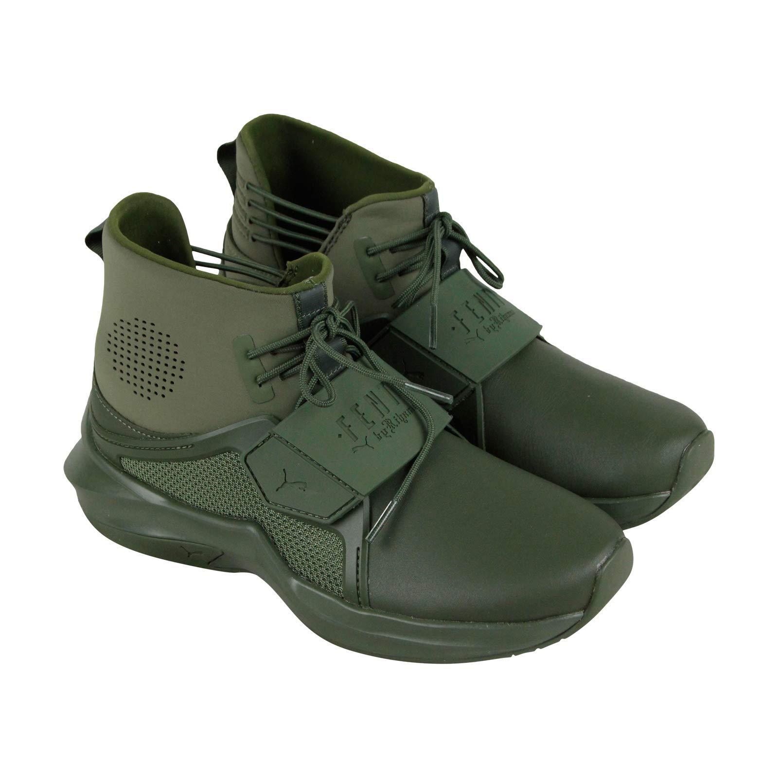 PUMA Women's Fenty X High Top Trainer Sneakers, Cypress, 5.5 B(M) US