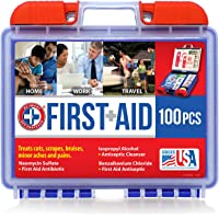 100-Piece Be Smart Get Prepared First Aid Kit 0.71 Lb