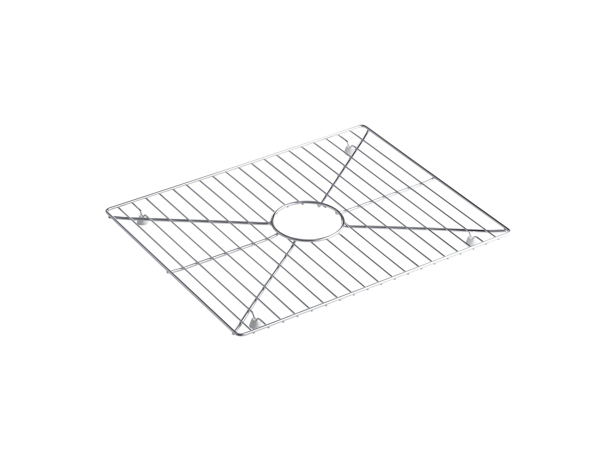 Kohler K-6234-ST Bottom Basin Rack for Stages 33'' Sink, Stainless Steel