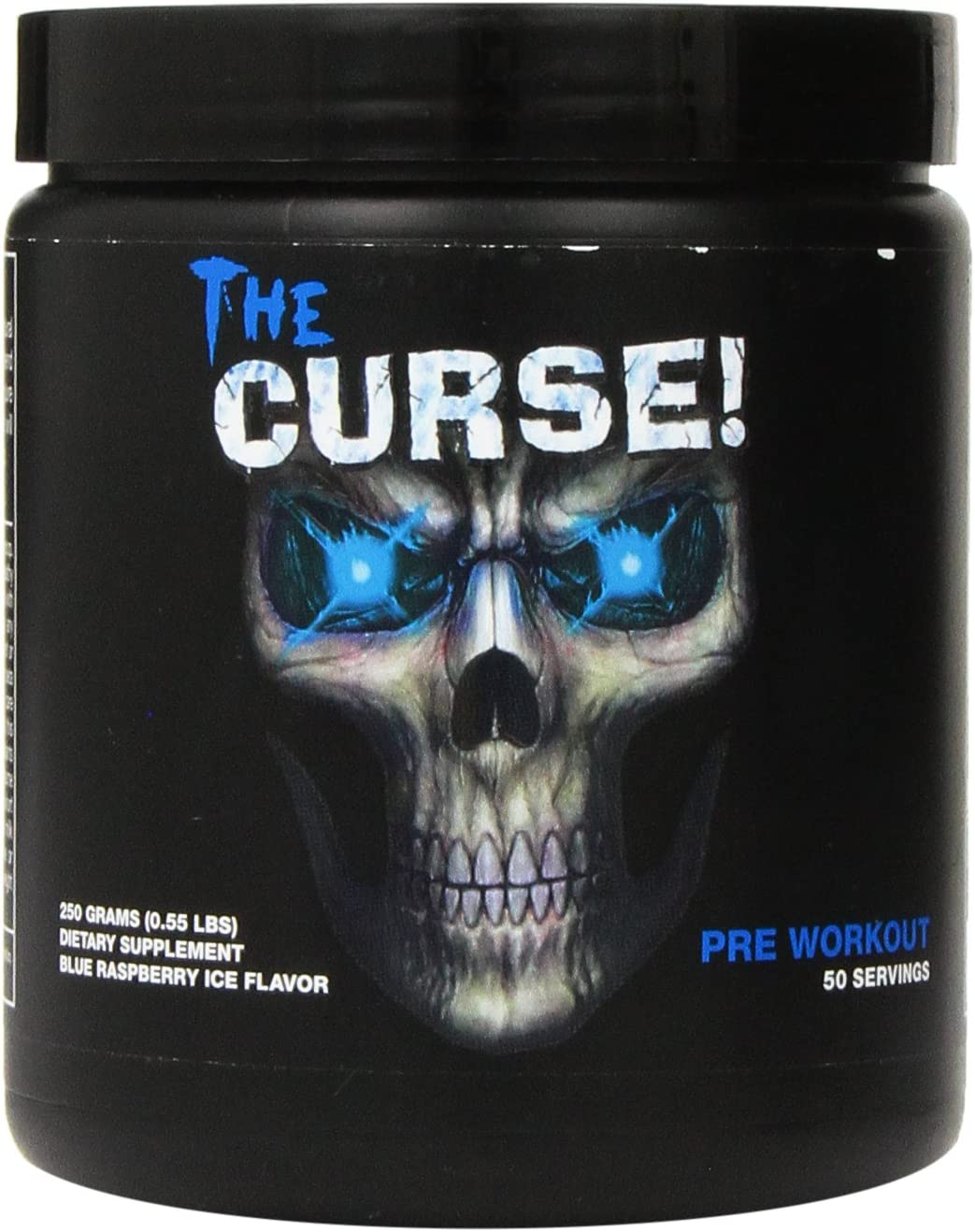Cobra-Labs-The-Curse-Advanced Pre-Workout 250grams 50 Servings Blue Raspberry