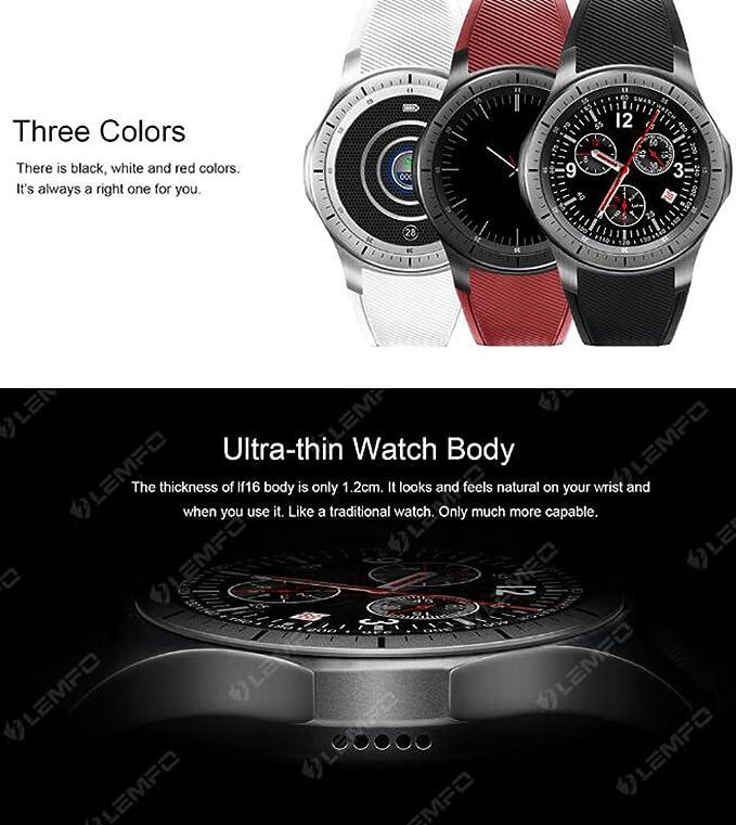 Amazon.com : Smart Watch 3G / WiFi Step Heart Rate ...