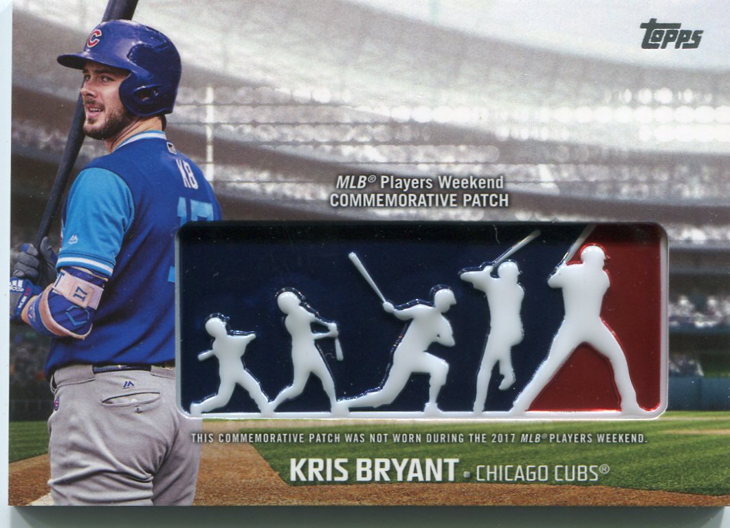 separation shoes 5bc38 5cb51 2018 Topps Players Weekend Patches #PWPKB Kris Bryant - NM ...