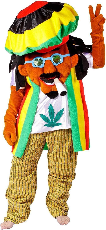 Disfraz rastafari adulto.: Amazon.es: Juguetes y juegos
