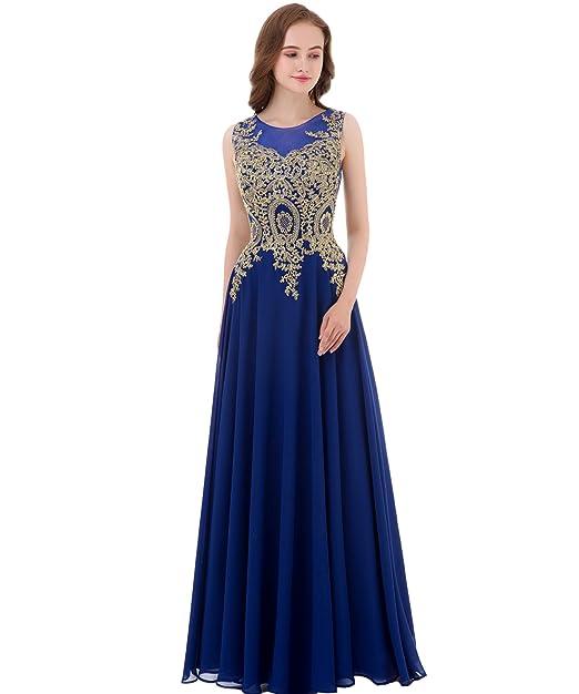 Amazon Kivary Gold Lace A Line Long Chiffon Women Formal Corset