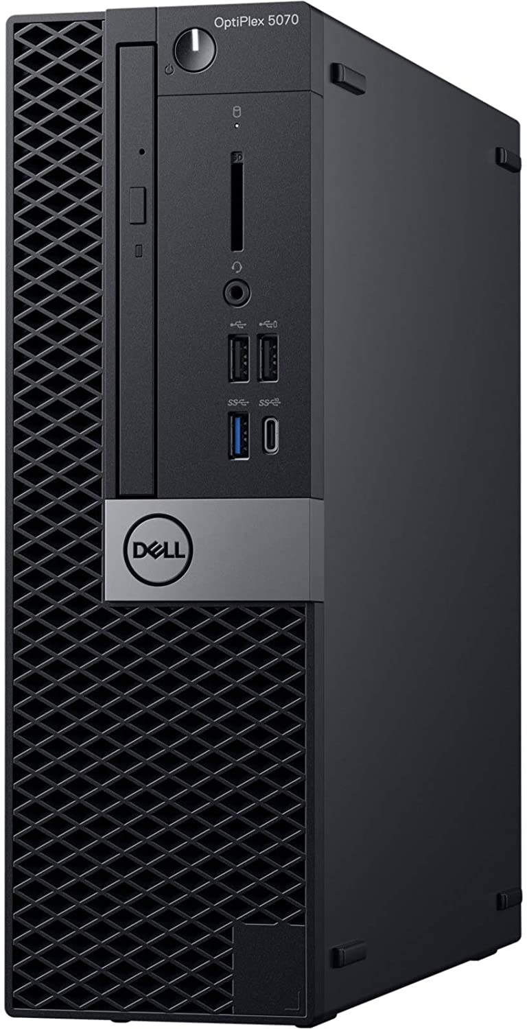 Dell OptiPlex 5070 Desktop Computer - Intel Core i7-9700 - 8GB RAM - 1TB HDD - Small Form Factor