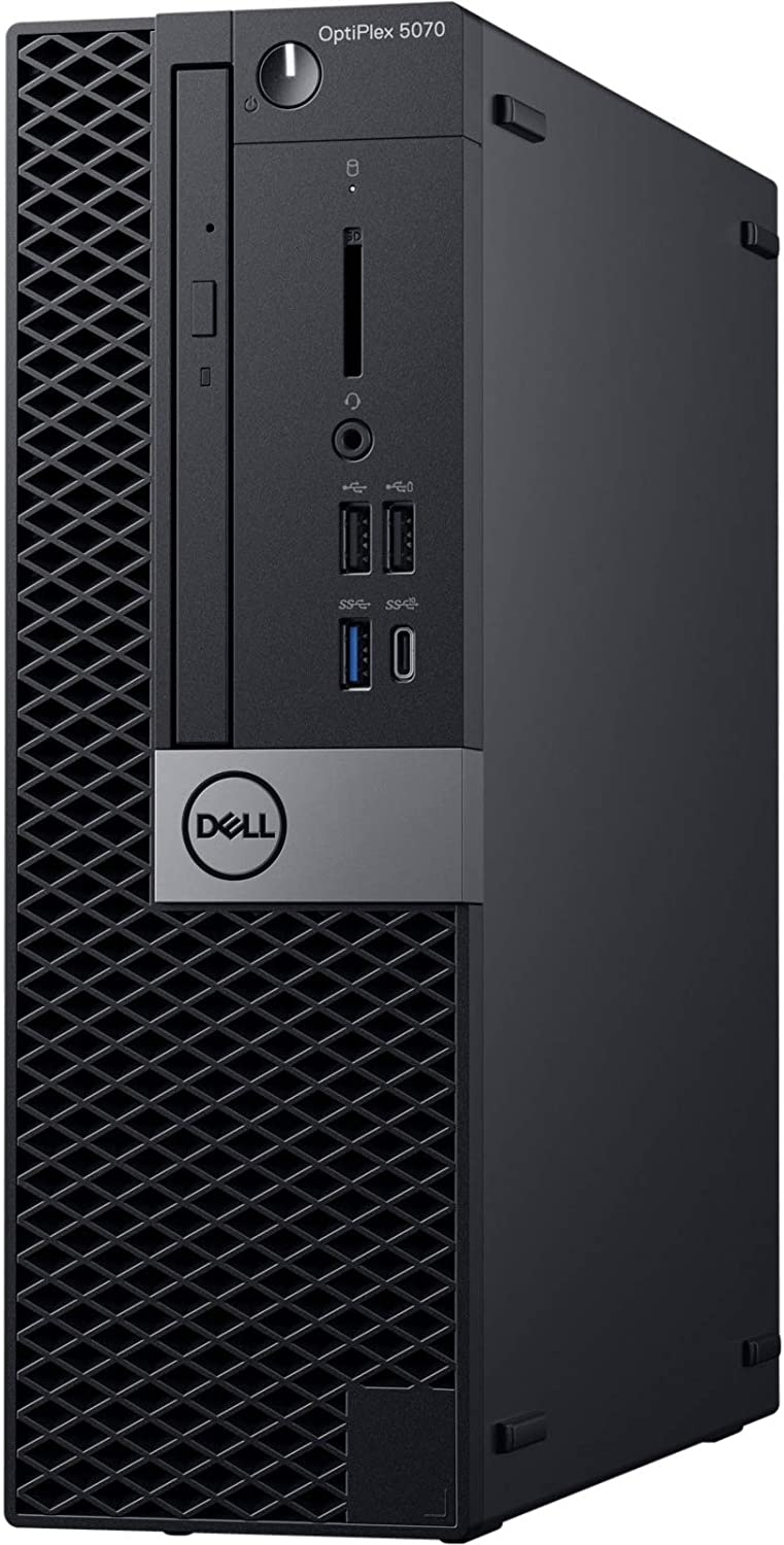 Dell OptiPlex 5070 Desktop Computer - Intel Core i7-9700 - 8GB RAM - 256GB SSD - Small Form Factor