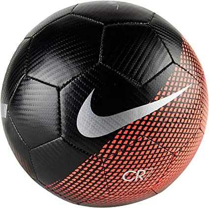 Nike CR7 Prestige Ballon de foot, BlackRedCrimson, 4