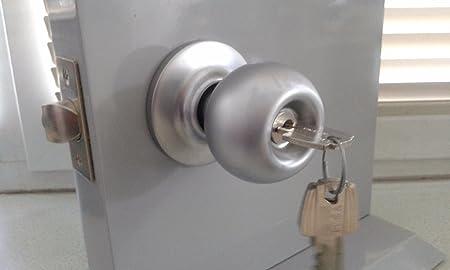 COMERCIAL ASSA ABLOY ENTRY KNOB LOCK GRADE 2 STANDARD DOOR