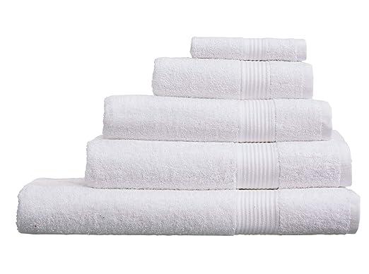 Olivia Rocco - Toallas de algodón Egipcio (500 g/m²), Blanco, XL Bath Sheet: Amazon.es: Hogar