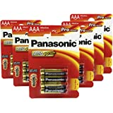 Panasonic Pro Power Micro AAA , pack of 24 (6x Blister pack of 4)