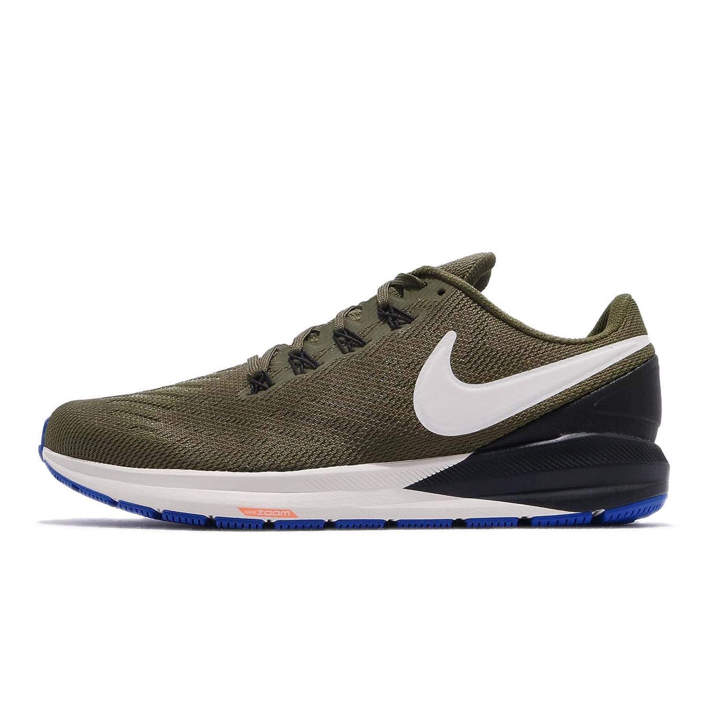 MultiCouleure (Olive toile lumière Bone noir 300) 42 EU Nike Air Zoom Structure 22, Chaussures de FonctionneHommest Compétition Homme