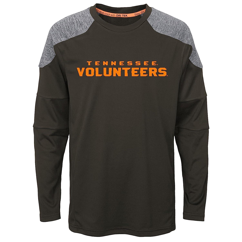 Team Color 10-12 NCAA Tennessee Volunteers Boys Outerstuff Gamma Long Sleeve Performance Tee Youth Medium