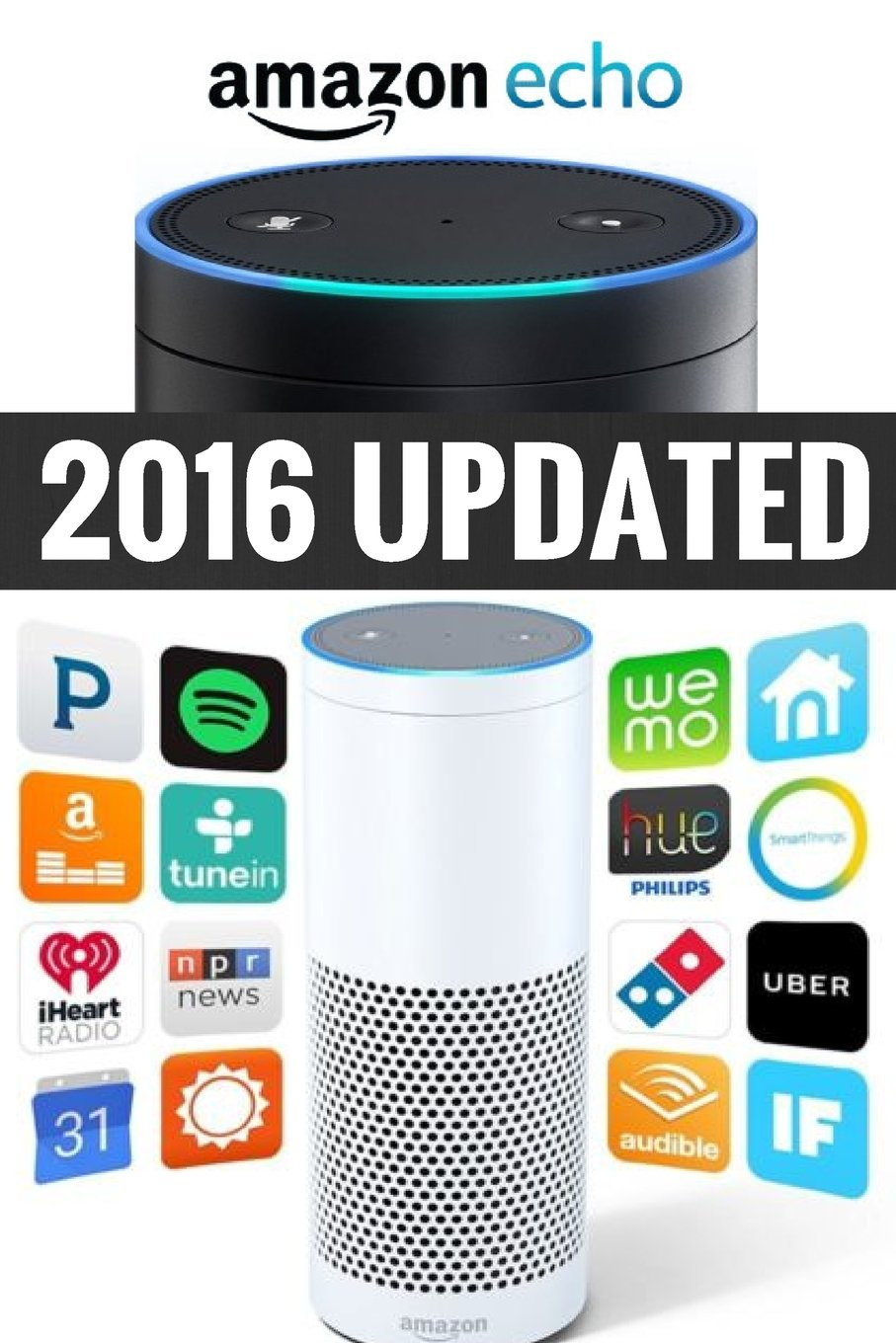 Read Online Amazon Echo: Amazon Echo Advanced User Guide (2016 Updated) (Echo, Amazon Echo User Manual, Amazon Alexa, Amazon Echo Dot, Amazon Echo ebook) ebook