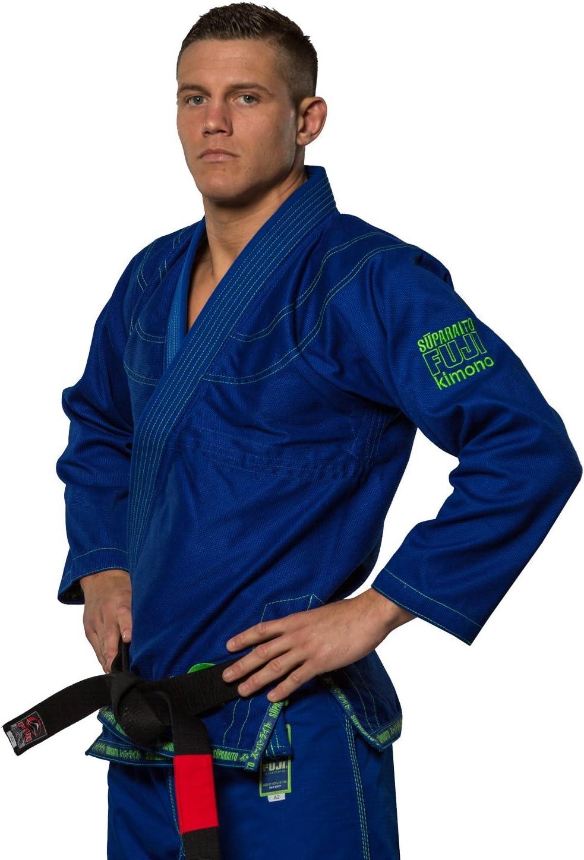 Army Green Fuji Suparaito Super Lightweight Mens Brazilian Jiu-Jitsu BJJ Gi