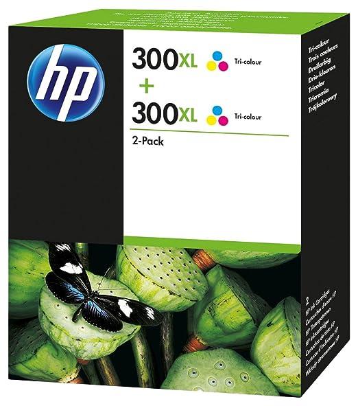 10 opinioni per HP D8J44AE Original Ink Cartridge 300XL, Twin Pack, 440 Seiten, tri-color