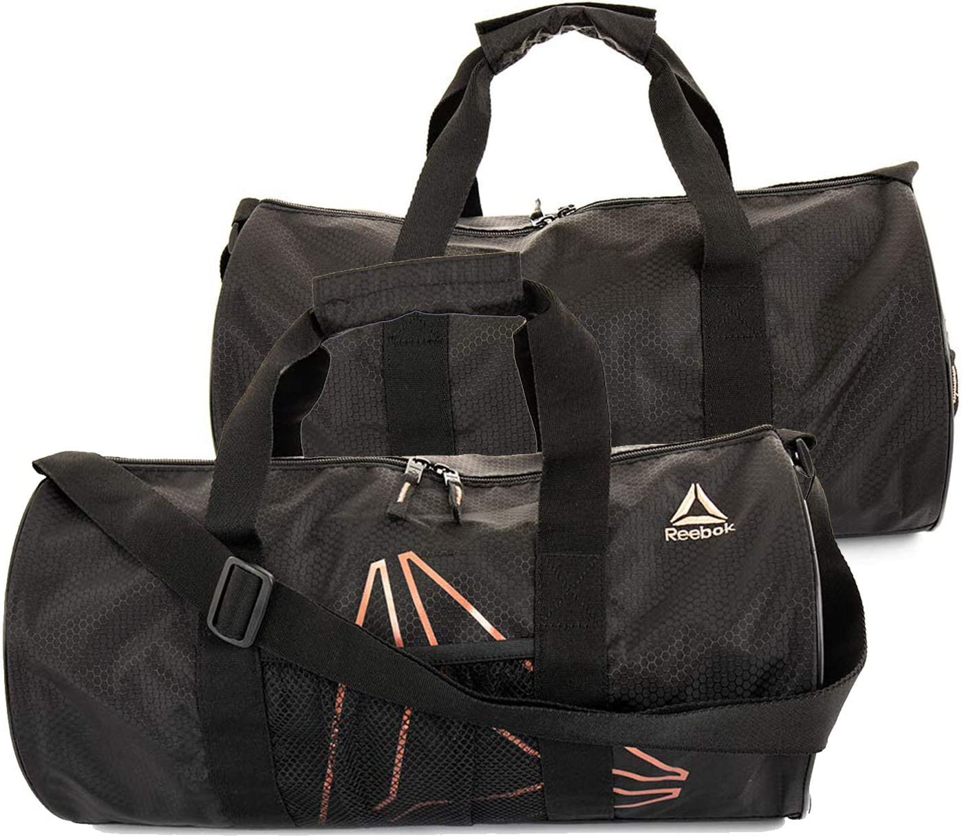 Heritage Navy or Cobalt Gym Sports Duffel Bag Details about  /Reebok PLYO Small Duffle Bag