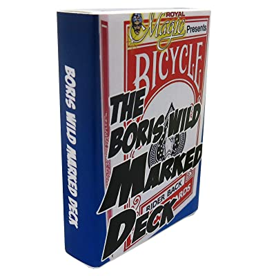 Boris Wild Marked Deck - Blue Bicycle Deck for Magic Tricks: Toys & Games