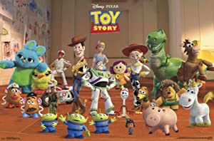 """Trends International Disney Pixar Toy Story 4 - Collage Wall Poster, 22.375"""" x 34"""", Unframed Version"""