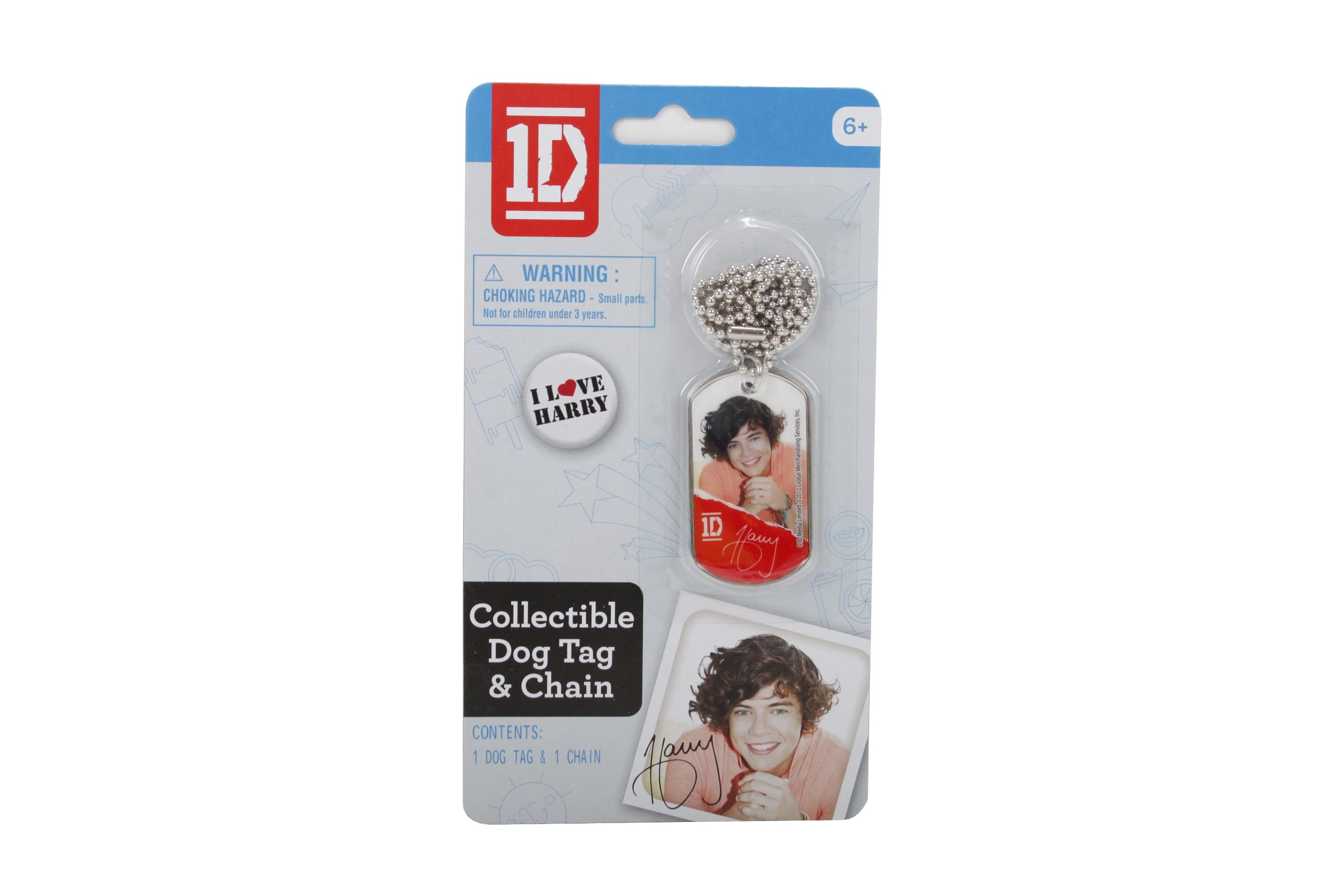 One Direction Dog Tags, Harry