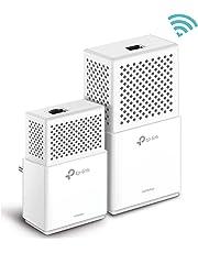 TP-Link TL-WPA7510 Kit Powerline WiFi, AV1000 Mbps su Powerline, 750 Mbps su WiFi Dual Band, 1 Porta Gigabit, Plug and Play, HomePlug AV2 con maggiore velocità e minore perdita di larghezza di banda