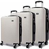 Kono Maleta de equipaje Hard Shell 4 ruedas Spinner Holiday Travel Business Trip Trolley Case