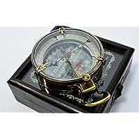 Brass Map Compass (Spencer) (7.71 cms)