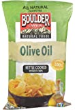 Boulder Canyon Natural Foods Kettle Cooked Potato Chips Olive Oil -- 5 oz (Pack of 2)