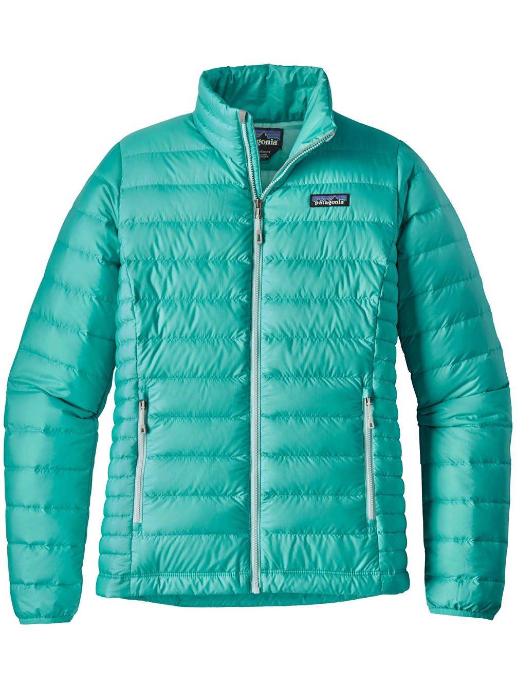 Patagonia Women's Down Sweater Jacket (M, Strait Blue)