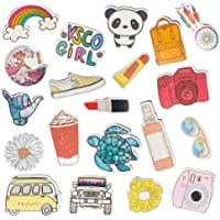 Vsco Stickers Water Bottle Stickers Aesthetic Vinyl Waterproof Cute Luggage Blue Sticker Pack for Girls Teens Kids