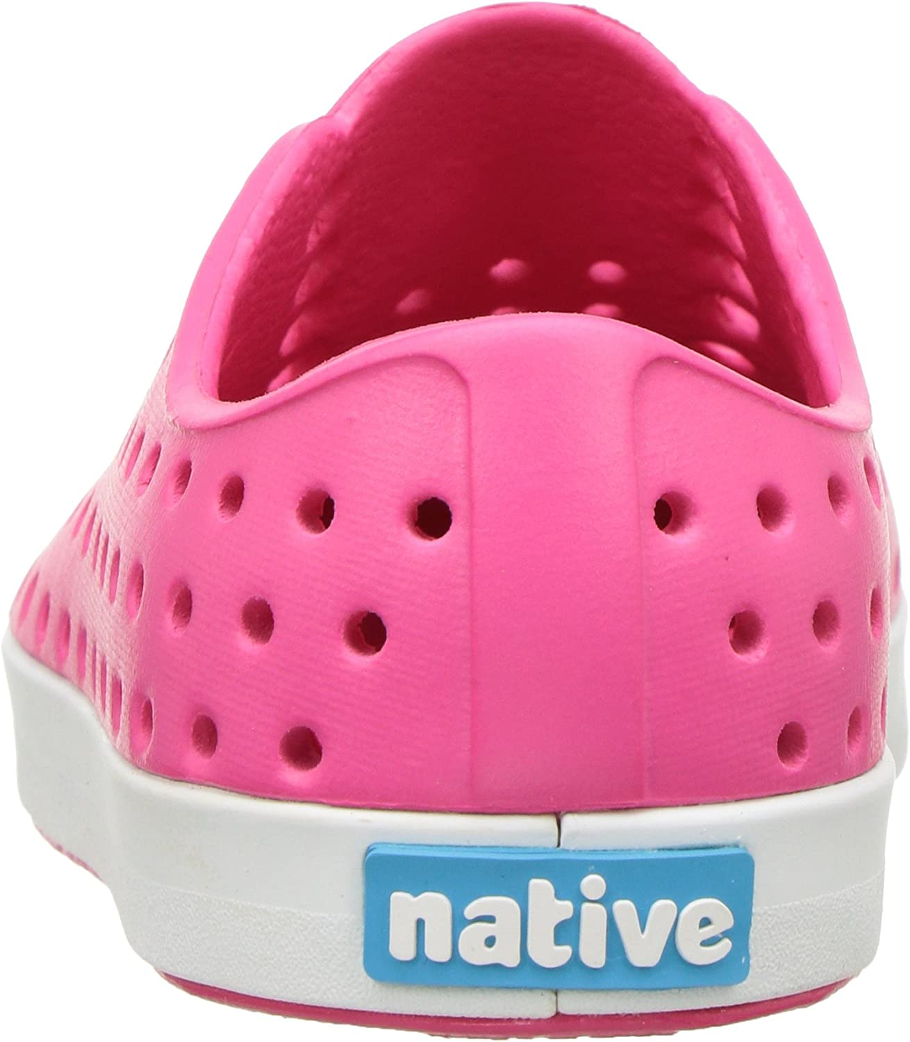 12 Medium US Little Kid Hollywood Pink//Shell White Native Kids Jefferson Child Water Proof Shoes