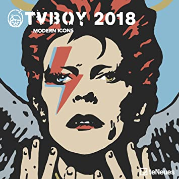 Calendario 2018 Icone moderno - David Bowie - Prince ...