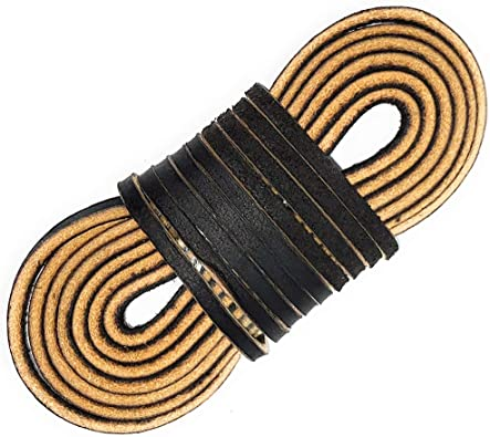 TOFL Leather Boot Laces Logger Style-A
