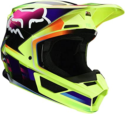 Fox Helmet V-1 Motif Yellow L