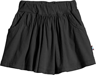 product image for City Threads Girls' Skort 100% Cotton for School, Sports, Running, Tennis, Golf
